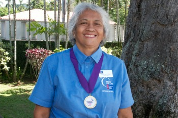 Daveline Andaya Ching, American Cancer Society 2013 Hero of Hope