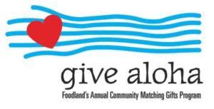 Give Aloha Logo for American Cancer Society Hawaii Pacific