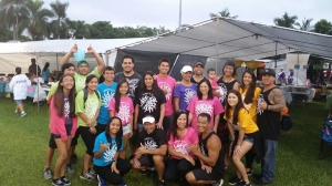 Kenui volunteer for American Cancer Society