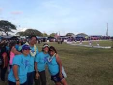 Patti at Relay for Life Kauai American Cancer Society