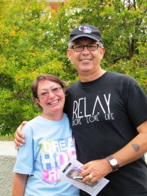 Erin and Juan Relay for Life Hilo ACS Hawaii pacific