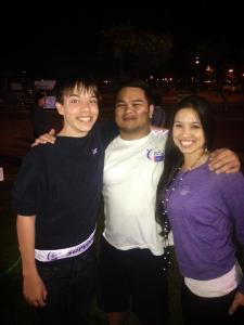 Darrah Nic and JJ Relay for American Cancer Society Hawaii Pacific