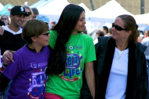 Darrah Nic Mom at American Cancer Society Relay for Life