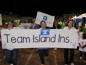 Island Insurance Relay for Life American Cancer Society Team