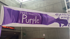 Paint Hawaii & Guam Purple for Relay For Life