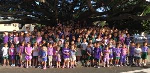 St. John Vianney Purple Up Day